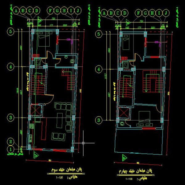 05 Product960200 #046 - Residential Building Drawings 483m