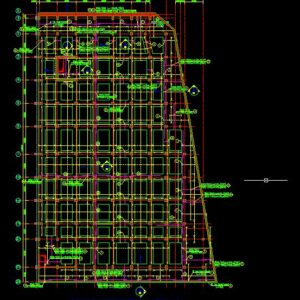 Product960500 #049 - DWG - Mega Mall Foundation Drawings 002