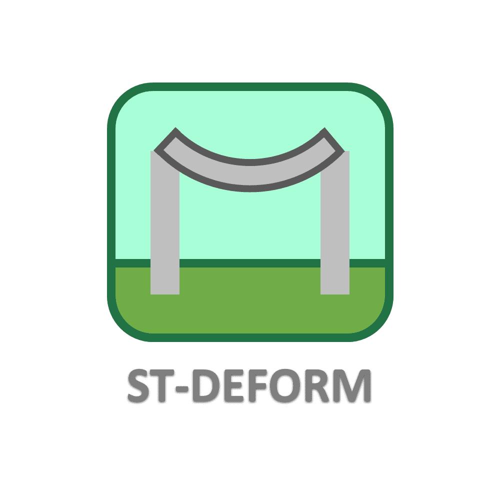 نرم افزار محاسبه و کنترل خیز تیر ST-DEFORM
